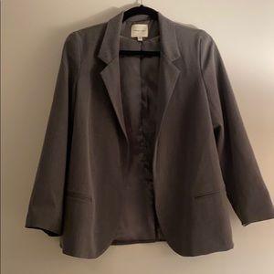 Light Grey Blazer Jacket